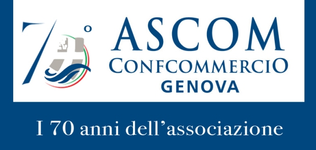 Logo Ascom 70 anni