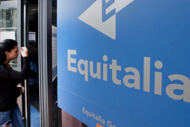 24/10/2011 Roma, nella foto il logo di Equitalia, la società' incaricata dall'Agenzia delle Entrate della riscossione dei tributi