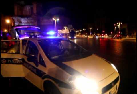 polizia municipale di notte