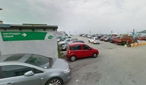 parcheggio pam voltri