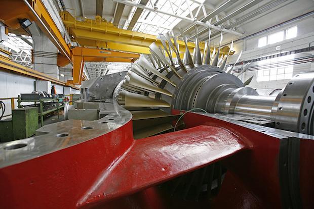 ansaldo energia turbine