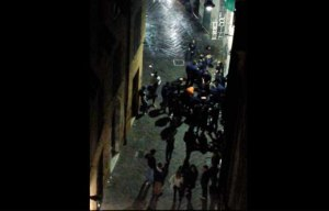schiamazzi via San Donato