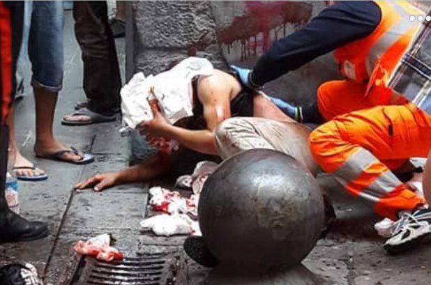 tunisino ferito canneto
