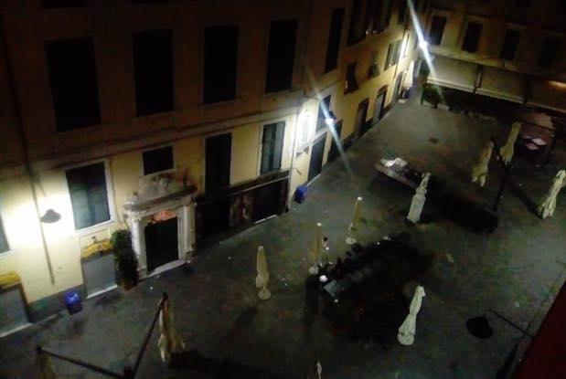 piazza delle Erbe vuota