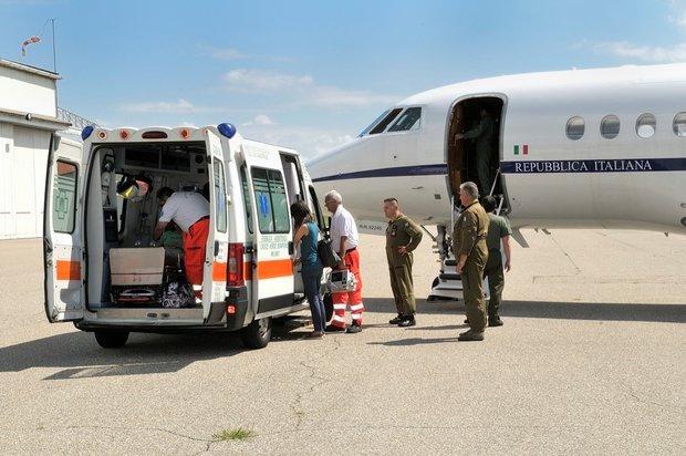 31º stormo aereo trasporto medico