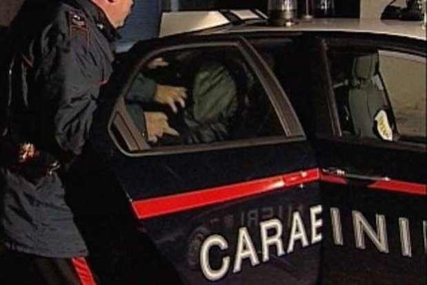 carabinieri arresto notte
