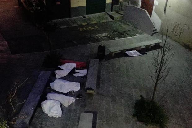 piazza vittime di tutte le mafie notte