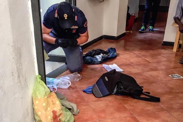 polizia eroina ghetto lavanderia