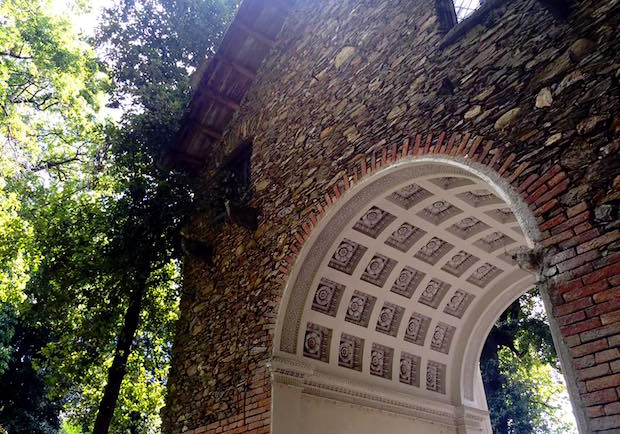 villa Pallavicini retro arco classico