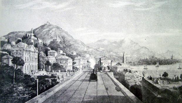 villa Rosazza, foto storica