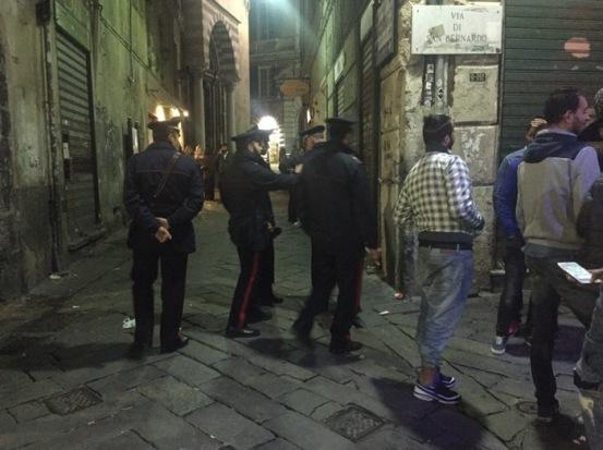 carabinieri movida
