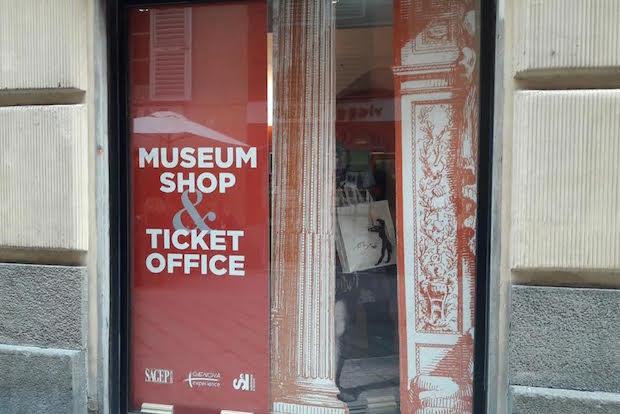 museum shop souvenir musei