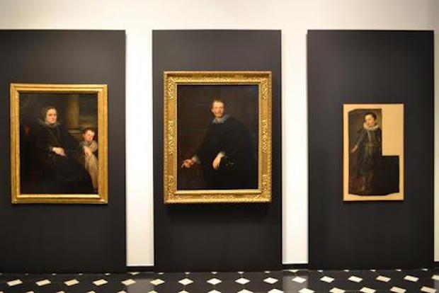 Ritratto di Desiderio Segno di Van Dyck e mostra a Palazzo Spinola