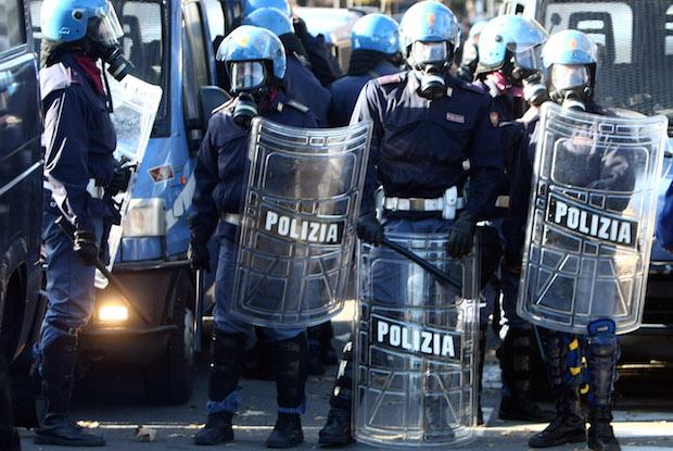 Celerini polizia stadio