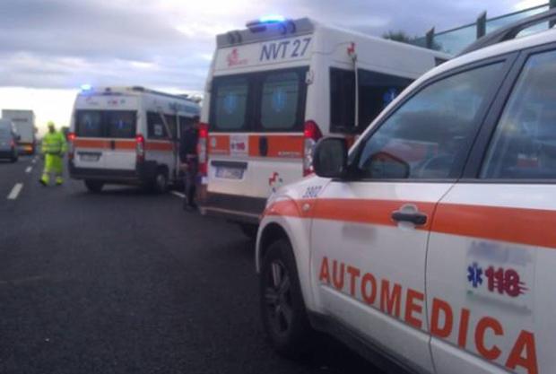 ambulanze-incidente-autostrada