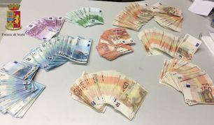 soldi euro sequestro ps