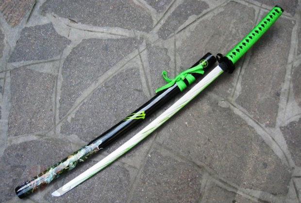 katana-verde